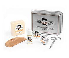 Tins   Men's Beard Beard Grooming Kits, Male Grooming, Mo Bros, Beard Growth Kit, Tin Man, Beard Care, Bearded Men, Nail Care, Fragrance