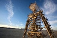 Burning Man happens every year in the desert of Nevada.  50,000 freaks in the desert for a week leads to some amazing experiences.