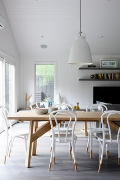 French Grey American Oak timber floors have been used here by Austin Design Associates