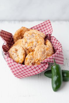 Cheddar Jalapeno Bacon Low Carb Biscuits