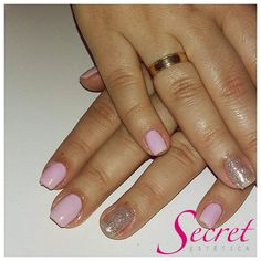 #gelinho#rosa#glitter#prata#secret#bemestar