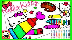 Crayola HELLO KITTY Coloring Pages  - Crayola Coloring Book - Color With...