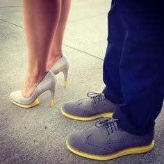 His & Hers Lunargrands. #ColeHaan #Nike #NikeTalk #Couple #Match