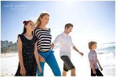 Some family photos at Bronte Beach by Sarah Gardan Photography.
