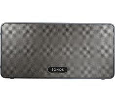 SONOS  PLAY:3 Wireless Smart Sound Multi-Room Speaker - Black, Black Price: £ 219.00 Have a limitless music library at your fingertips with the versatile Sonos PLAY:3 Wireless Smart Sound Multi-Room Speaker . Sporting a sleek, cool black colour, the Sonos PLAY:3 teams impeccable functionality with vast amounts of contemporary style. So what is Multi-Room? Expand your home audio experience...