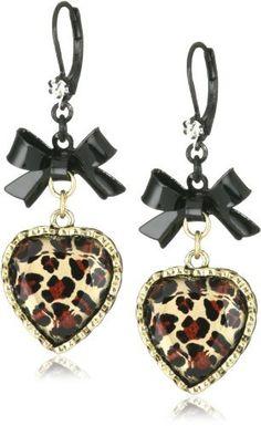 Betsey Johnson Crystal Leopard Heart and Black Bow Drop Earrings Betsey Johnson, http://www.amazon.com/dp/B002SXDXME/ref=cm_sw_r_pi_dp_c73urb0SJSMBK