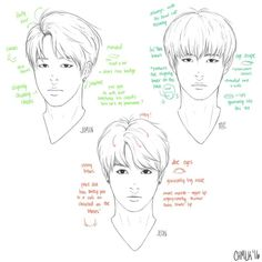 Image result for tips to sketch of bts