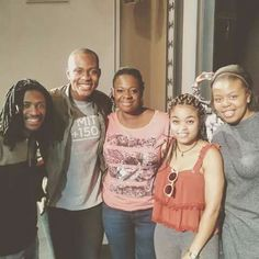 """TwoTone Music Vocalist Xolisile Jack, Mathias """"Ngasii"""" Katushabe, Courtnry Williams and Miranda Ncwane posing for a picture with the lovely Judith Sephuma for the Divas in Spring Concert, Port Elizabeth- 04 September 2016 Port Elizabeth, Pop Singers, Divas, Crying, September, Graphic Sweatshirt, African, Smile, Dance"""