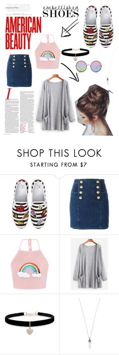 """Custom Fabrics"" by gabbae-12 ❤ liked on Polyvore featuring BP., Balmain, Betsey Johnson, Marc Jacobs and Sunday Somewhere"