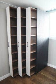 Ideas For Small Closet Shelves Organisation Small Closet Organization, Wardrobe Storage, Cupboard Storage, Office Storage, Closet Storage, Bedroom Storage, Kitchen Storage, Storage Organization, Furniture Storage