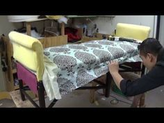 Upholstery How To Upholster The Outside  Back On A Sofa - YouTube