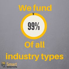 Funding 99% of all industry types