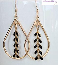 Des Boucles d'oreilles en Gold Filled 14 carats