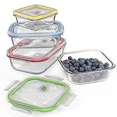 Glass Food Storage Containers With Locking Lids Which Is Better Plastic Vsglass Food Storage Containers  Storage