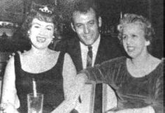 Patsy Cline, with Carl Perkins, and her mom, Hilda Hensley. Las Vegas.