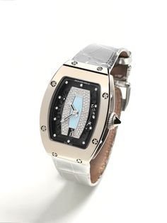 Richard Mille RM007 Ladies' watch red gold with polished case front