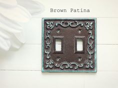 Light Switch Cover / Light Switch Plate Cover / by ReformedMetals, $13.00