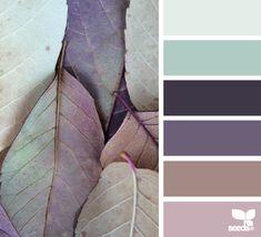 Woah. I love these. Leaf hues