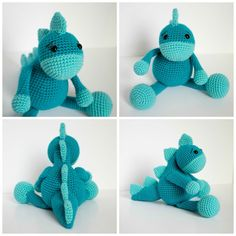 The Friendly Dino is the essence of little paleontologists dreams. While not exactly accurate or recognizable as any specific dinosaur, my b...