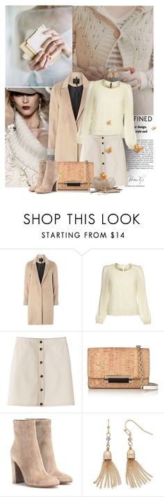 """""""Design styles defined"""" by anna-survillo ❤ liked on Polyvore featuring Poesia, mel, Yumi, Diane Von Furstenberg, Gianvito Rossi, LC Lauren Conrad and Guide London"""