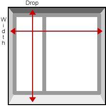 Measureing inside (recess) the window