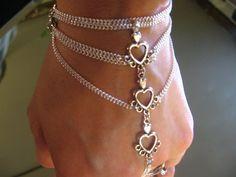 hearts slave bracelet