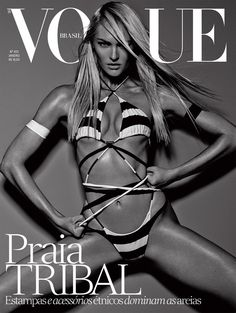 Candice Swanepoel by Mariano Vivanco Vogue Brazil January 2014