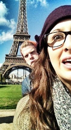 Photo taken by Ester Kaplan of her and Scotty...guess where they are? Lol give up? :P