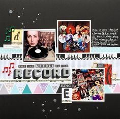 Scrapbook Page Designs that Appeal to the Senses | Devra Hunt | Get It Scrapped
