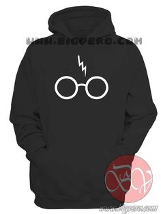 Scar and Glasses Hoodie //Price: $36.00    #clothing #shirt #tshirt #tees #tee #graphictee #dtg #bigvero #OnSell #Trends #outfit #OutfitOutTheDay #OutfitDay