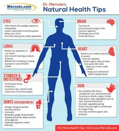 Natural health tips [Infographic]