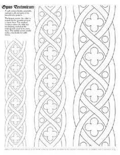 Image result for anglo saxon embroidery patterns
