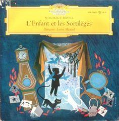 Lorin Maazel Ravel L'Enfant Les Sortileges 1961 LP