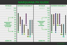 Handy Little Cannabis pH Meter Chart