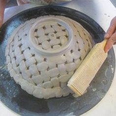 Weaving with Clay tutorial & adding texture