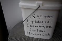 Homemade Dishwasher Detergent Craft Ideas Homemade