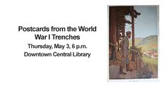 2018 Event - Kenneth J. Knoespel discusses the stories of a family collection of postcards  written home by a German soldier.