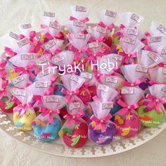 ♥ Tiryaki Hobi ♥: Keçe bebek şekeri / doğumgünü magneti - dolgulu kuş (BADE) ------------------ felt birds