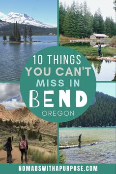 Bend Oregon Things to Do Bend is my favorite destination in Oregon! It's got mountains, a rich foodie culture, and so many adventures. There are so many unforgettable things to do in Oregon in the summer. Click now and check them out Oregon Lakes, Bend, Central Oregon, Oregon Coast, Crater Lake Oregon, Pacific Coast, Pacific Northwest, West Coast, Outdoor Adventures