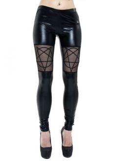 b5aa3bfa38ef9 10 Best Gothic LEGGINGS images | Gothic leggings, Gothic fashion ...
