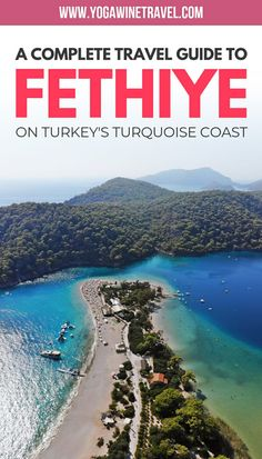 Fethiye in Turkey was once known as the ancient city of Telmessos, one of the most important cities Turkey Destinations, Travel Destinations, Travel Guides, Travel Tips, Places To Travel, Places To Visit, Turkey Travel, Turkey Vacation, Ancient Ruins