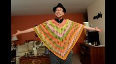 Are you looking for Simple Poncho Crochet Pattern? If you do, then you have come to the right place. For your information, ponchos are very comfortabl. Crochet Poncho Patterns, Shawl Patterns, Basic Crochet Stitches, Crochet Basics, Crochet Fall, Easy Crochet, Free Crochet, Crochet Crafts, Crochet Projects