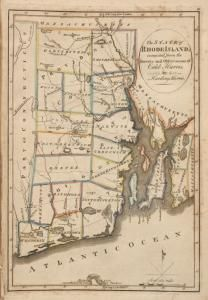 The State of #RhodeIsland. Compiled from the survey and observations of Caleb Harris. (1814) #map