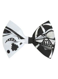 Star Wars Stormtrooper Darth Vader Hair Bow