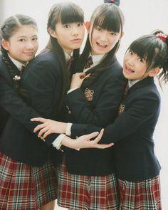 Nakamoto Suzuka. Suu-chan with 6th Graders