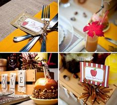 Autumn Engagement Party — Celebrations at Home