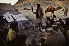 The man behind the famous Afghan Girl portrait. Beautiful documentary photography.