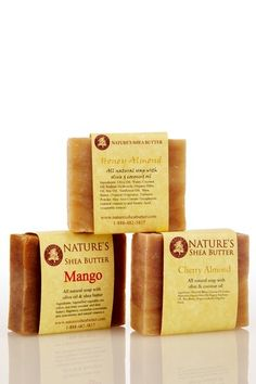 Handmade Soap Trio by Nature's Shea Butter on @HauteLook