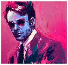 "egertondyke: """"Charlie Cox as Matt Murdock in Daredevil "" "" Marvel Movies, Netflix Marvel, Netflix Tv, Daredevil Punisher, Elektra Natchios, Muse, Sad Stories, Marvel Dc Comics, Comic Covers"