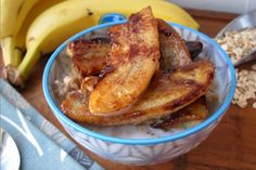 Bananas Foster Oatmeal [Vegan, Gluten-Free]